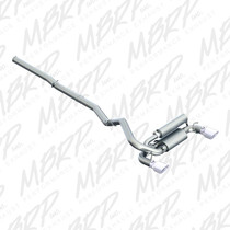 MBRP 2016+ Ford Focus RS 3in Dual Outlet Cat-Back Exhaust T409 SS