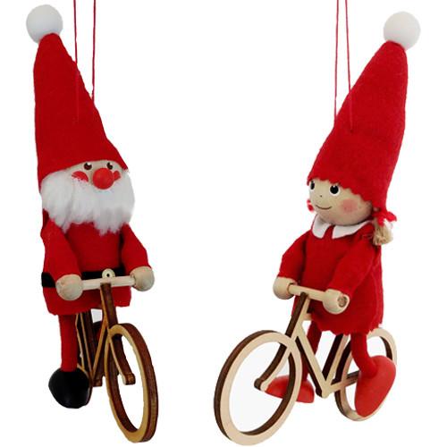 Scandinavian Bicycle Ornament