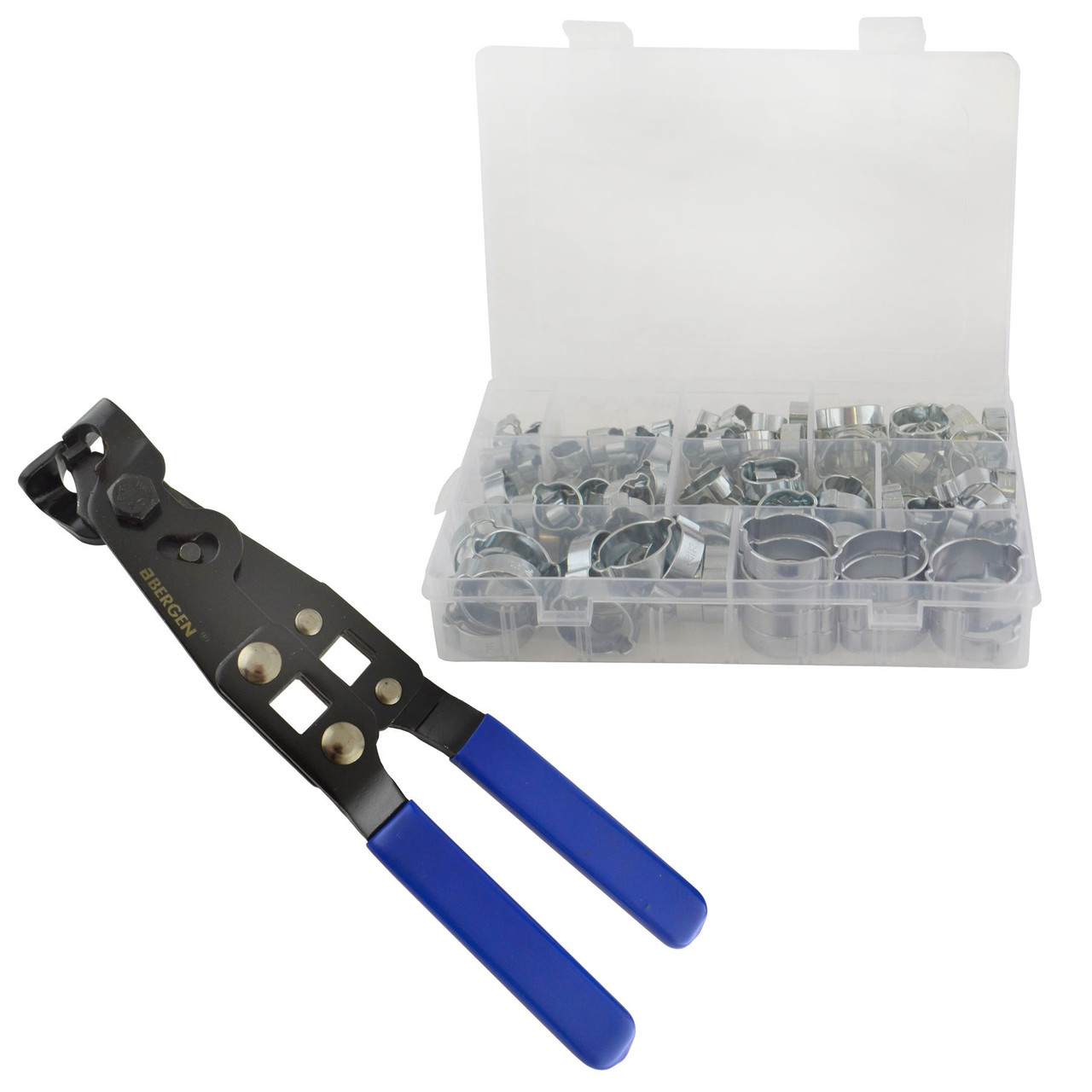 Ear Type O-Clip Pliers CV Joint Crimping Tool And 175pcs Hose Clip ...