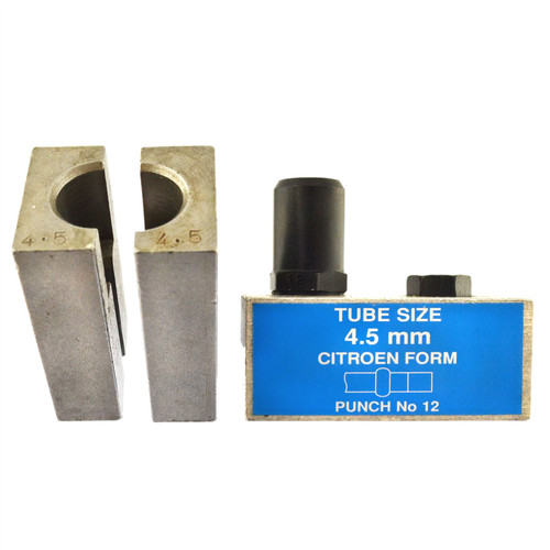 4.5mm Citroen Brake Pipe Flaring Flare Tool Punch And Die Single / Double FL44