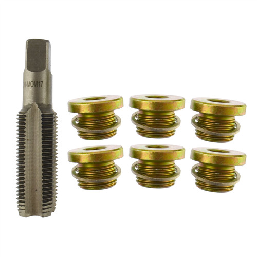 Sump Plug / Oil Drain Repair / Rethreader Kit M16 - M17 Thread AN091