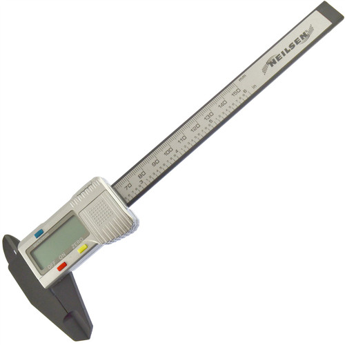 "Digital Vernier Caliper Gauge Internal / External LCD Display 6"" / 150mm"