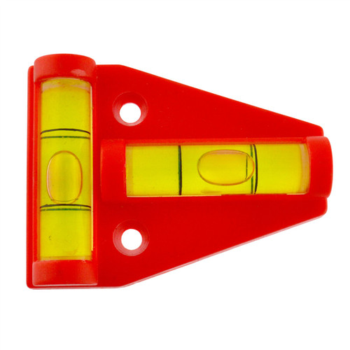 Mini Spirit Level Leveller For Trailers Caravan Motor Home Work benches 2 Way