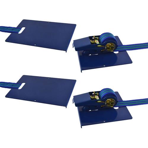 Laminate Floor Clamp Install Wood Floor Ratchet 130mm Carpenters Vice x 2 SIL321