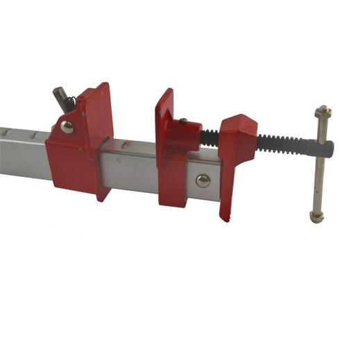 "24"" (600mm) Aluminium Sash Clamp Grip Bench Work Holder Vice Slide Cramp SIL222"