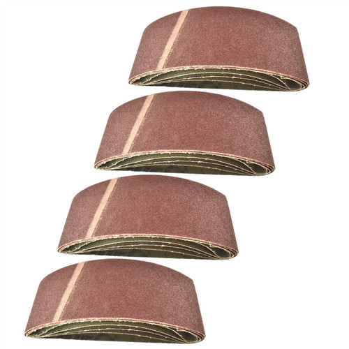 Belt Power Finger File Sander Abrasive Sanding Belts 457mm x 75mm 60 Grit 20 PK
