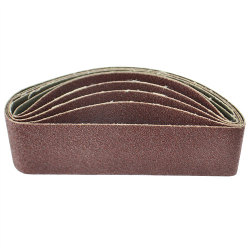 Belt Power Finger File Sander Abrasive Sanding Belts 305mm x 40mm 80 Grit 5 PK