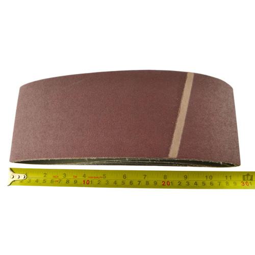 Belt Power Finger File Sander Abrasive Sanding Belts 610mm x 100mm 120 Grit 20PK