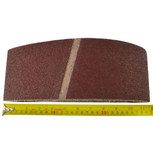 Belt Power Finger File Sander Abrasive Sanding Belts 610mm x 100mm 40 Grit 5 PK