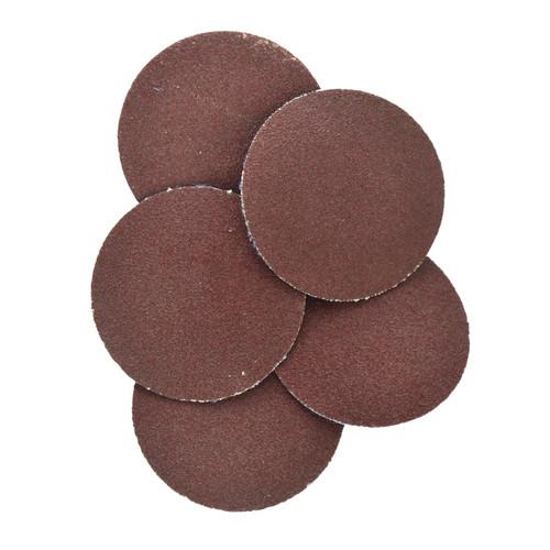15pc Flap Disc Set 50mm Twist Button Abrasive Discs Sanding Mixed 60 80 120 Grit