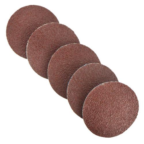 5pk Flap Disc Set 50mm Twist Button Abrasive Discs Sanding 60 Grit SIL156