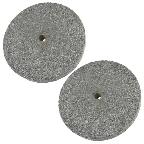 "6"" (150mm) Coarse & Fine Grinding Wheel Bench Grinder Stone 36 & 60 Grit"