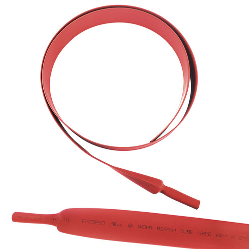 Electrical Heatshrink Tubing Sleeving Waterproof Red 16mm x 0.5 Metre