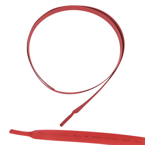 Electrical Heatshrink Tubing Sleeving Waterproof Red 8mm x 0.5 Metre