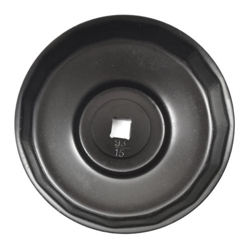 93mm 15 Flute Cup Oil Filter Socket Remover Removal Tool For Porsche Renault VW