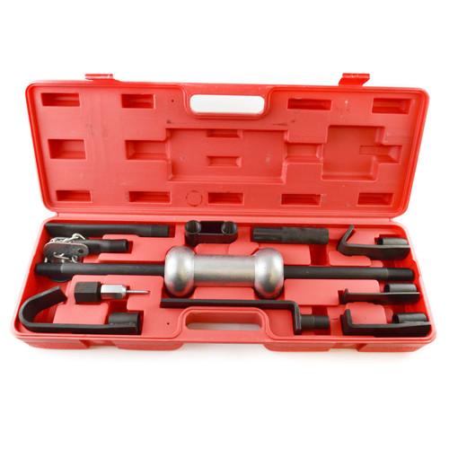 13pc 10lb Dent Puller Steel Slide Hammer Car Van Panel Beater Body Repair TE893
