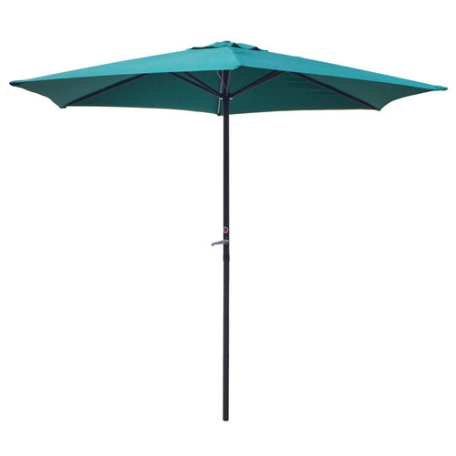 Garden Umberella Parasol Shade Shelter Steel Shaft BBQ Patio Party GAR65
