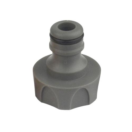 Grey Hozelock Adaptor Adaptor Juction Push Connector Hose Pipe Threaded GAR54
