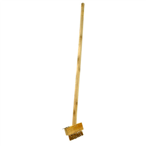 Short Patio Weeding Brush Weeding Tool Gardening Block Paving Brushes GAR07A