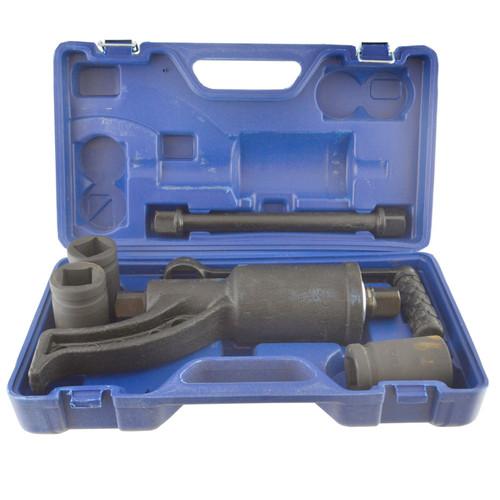 "1"" Drive Torque Multiplier Hand Lug Wrench Wheel Nut Remover 1 - 64 Ratio"