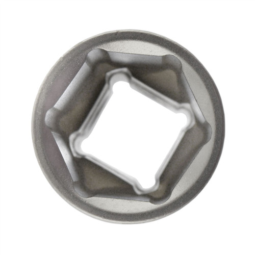 "19mm 1/2"" Dr Socket Super Lock Metric Shallow CRV Knurl Grip 6 Point TE797"