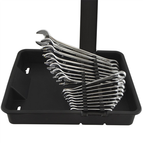 18pc Metric 6 - 24mm Combination Spanners Wrench In HD Plastic Case TE852