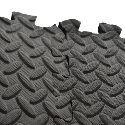 6pc Anti Fatigue Foam Flooring Matting Floor Covering Gym Mat Home Office TE820