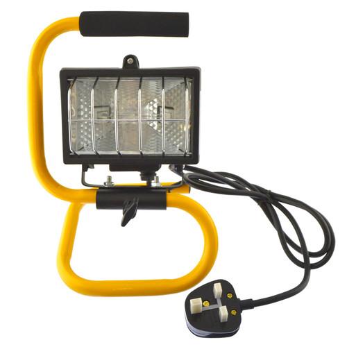120w Halogen LightWork Lamp Floodlight 120w Portable Garage Site Light GAR73
