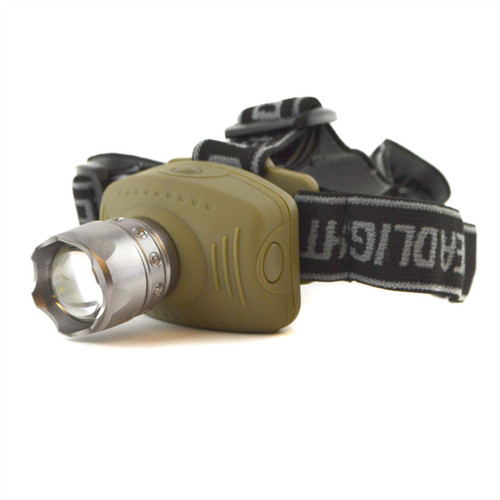 3W Headlight Z2 Cree LED Head Lamp Torch Light Flashlight Zoom Tilt TE951