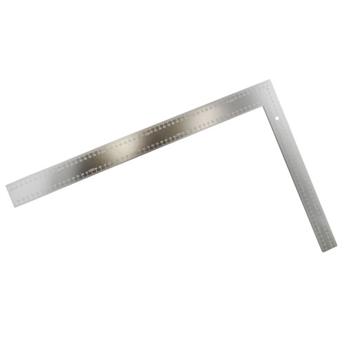 """24"""" x 16"""" Aluminium Set Speed Square Rafter Metric Imperial Roofing Rule TE841"""
