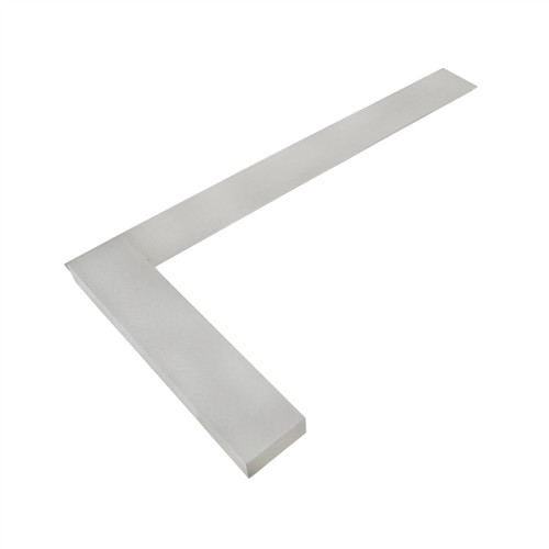 "12"" (300mm) Engineers Tri Square Set Square Right Angle Straight Edge Steel SIL123"