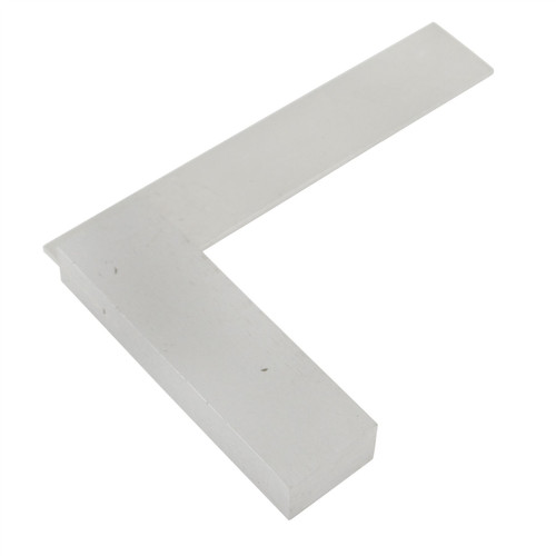 "3"" (75mm) Engineers Tri Square Set Square Right Angle Straight Edge Steel Try SIL115"
