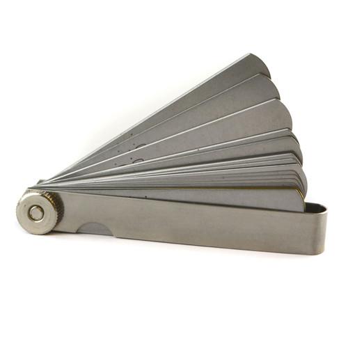 32 Blade Feeler Gauge Metric and Imperial Tappets Gap Measure Spark Plug TE918