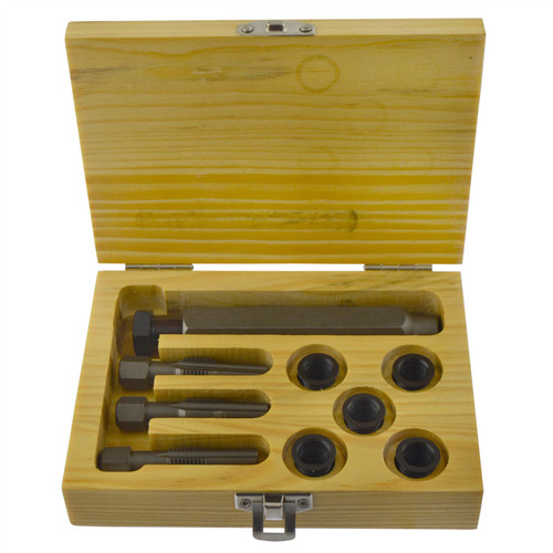 Glow Plug Cylinder Head Metric Thread Repair Restorer Tap Kit M10 x 1.25mm