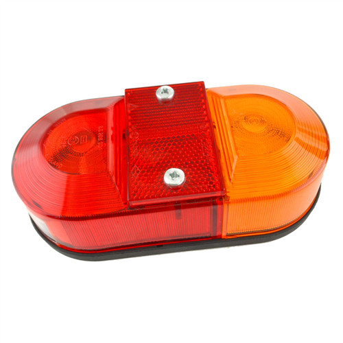 Horse Box Light Trailer Combination Lamp Reflector Number Plate Rear TR235