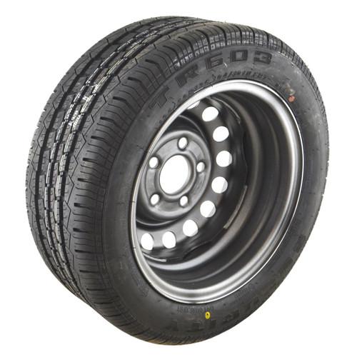 195/50 R13C Tyre & Wheel Rim 5 Stud 104/101N 112mm PCD TRSP45
