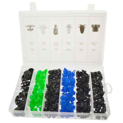 Opel Trim Clip Assortment Set Retaining Retainer Grommet Clips Fixings 300pc