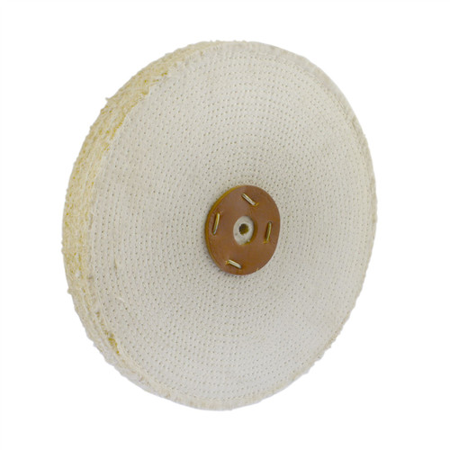 """Coarse Sisal Fast Cut Buffing Polishing Mop 12"""" x 1.5"""" 3 Section 1st Stage Metal"""