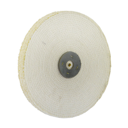 """Coarse Sisal Fast Cut Buffing Polishing Mop 12"""" x 1"""" 2 Section 1st Stage Metal"""