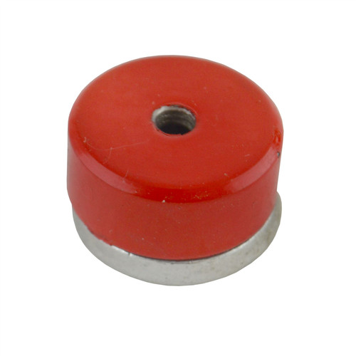 Shallow Pot Magnet Magnetic 19 x 7.5mm Countersunk Ferrite E Magnet 3kg SIL143