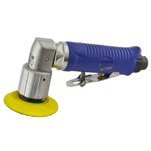 "2"" 50mm Air Angle Sander Grinder Polisher With Hook/Loop Pad Sanding Pad By Bergen"