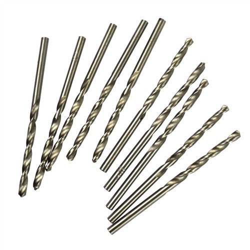 2mm HSS Metric Drill Bits 10 Pack For Metal Steel Wood By Bergen