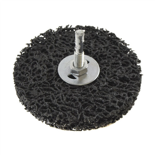1 x 100mm Clean And Strip Disc Rust Paint Welding Spatter Removal 6mm Shank
