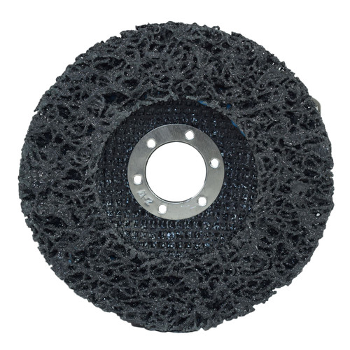 115mm Flap Disc Clean Strip Rust Paint Graffiti Sanding Caramelised Wheel x 2