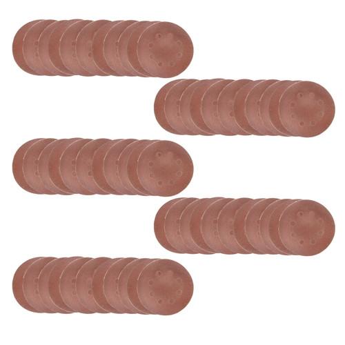 Hook/Loop Sanding Abrasive Discs Orbital DA Palm Sander 50 PK 125mm Mixed Grit