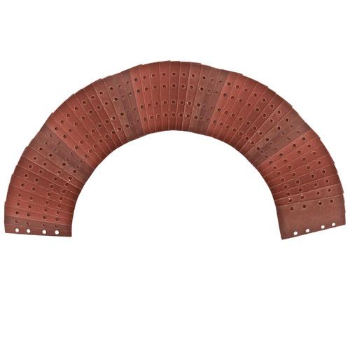 Hook/Loop 1/3 Sheet Sanding Sander Sandpaper Pads 50 Pack 80 Grit