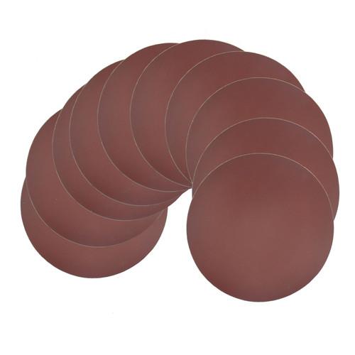 Hook/Loop Sanding Abrasive Discs Orbital Palm Sander 40PK 180mm Mixed Grit