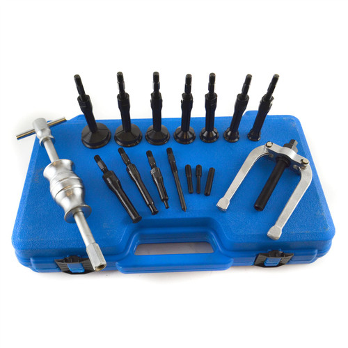 Bearing Extractor Puller Remover Inner Blind Bearing Removal Set 16pcs Bergen