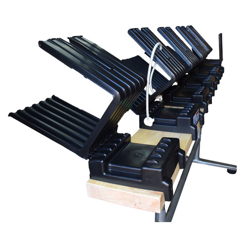 Saw Horse Log Holder Wood Table Bench for Chain Saw Truncator Metal 6 Fold