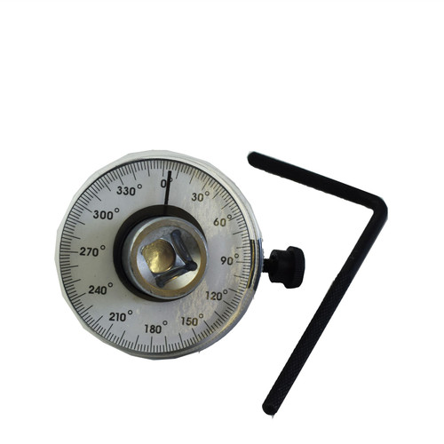 """1/2"""" Dr Torque Angle Gauge For Torque Wrench 0-360 Degrees TE963"""